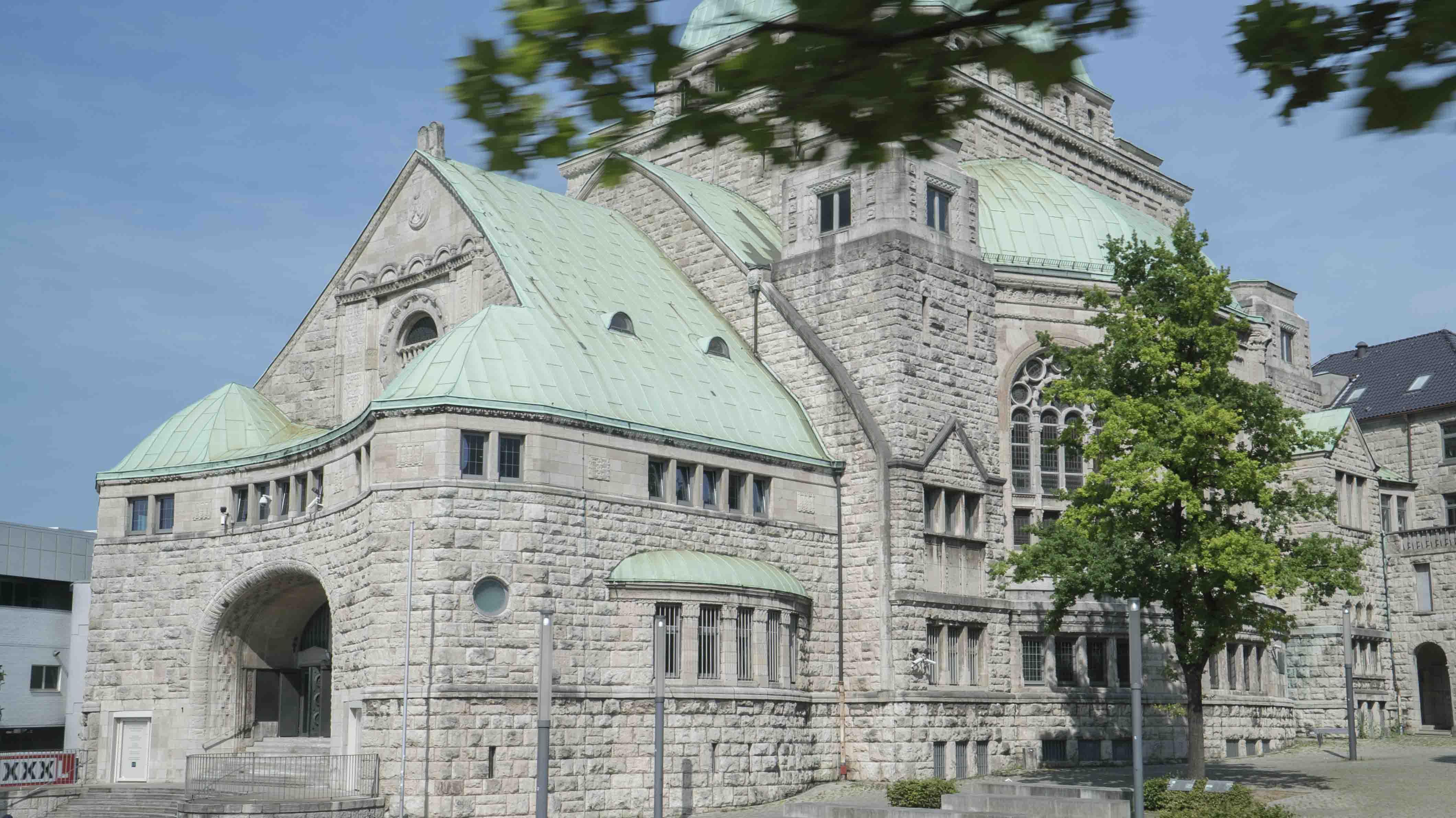 Kulturzentrum Alte Synagoge In Essen, 21.6.2017, Foto: Robert B. Fishman